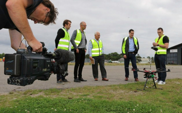 The Danish government is embracing commercial drones and UAV's