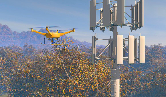 Drone powered solutions represent huge market potential