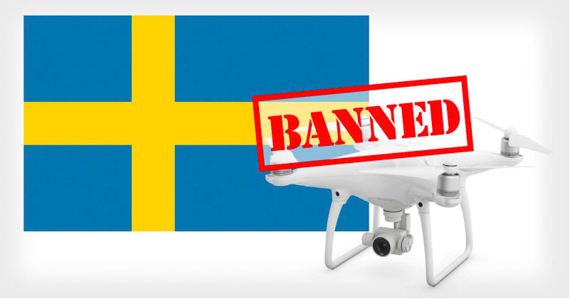 Sweden's High Court Banned Drones With Camera from Public Places