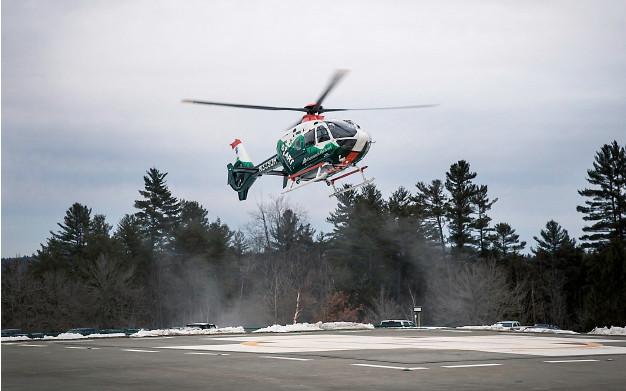 Drone danger to air ambulances