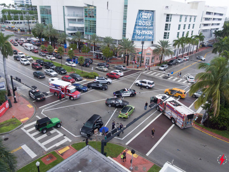 PHOTO: Traffic Accident Investigations Emerging Category for UAS Services