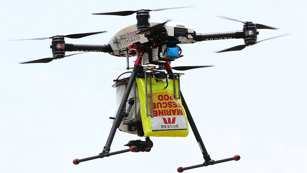 Surf Lifesaving is testing drone in Australia