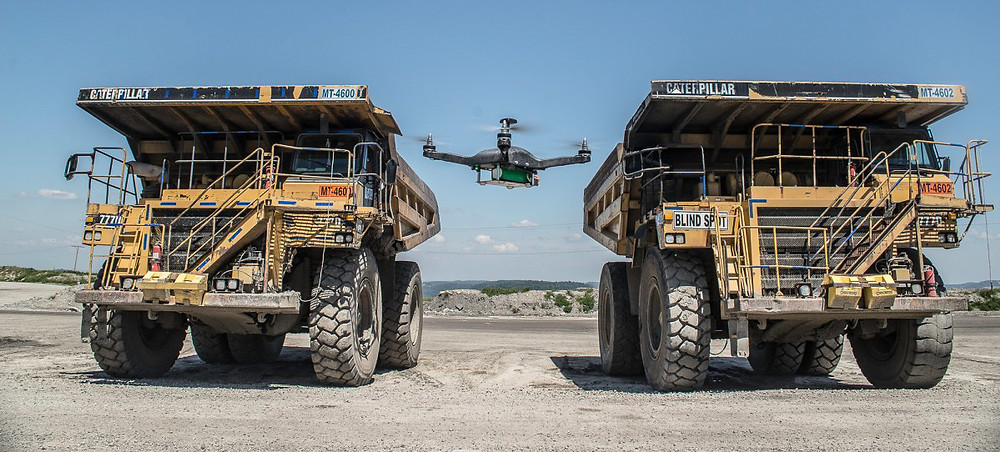 Drones are an effective tool at large construction sites