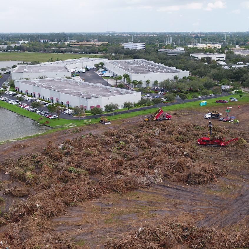 Airborne Response Hurricane IRMA Debris Management Drone UAS
