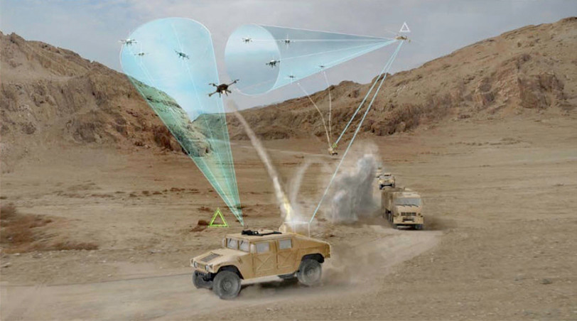 Rendering of DARPA's Mobile Force Protection program