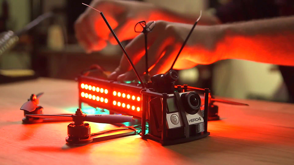 Expect innovation from the Drone Racing League