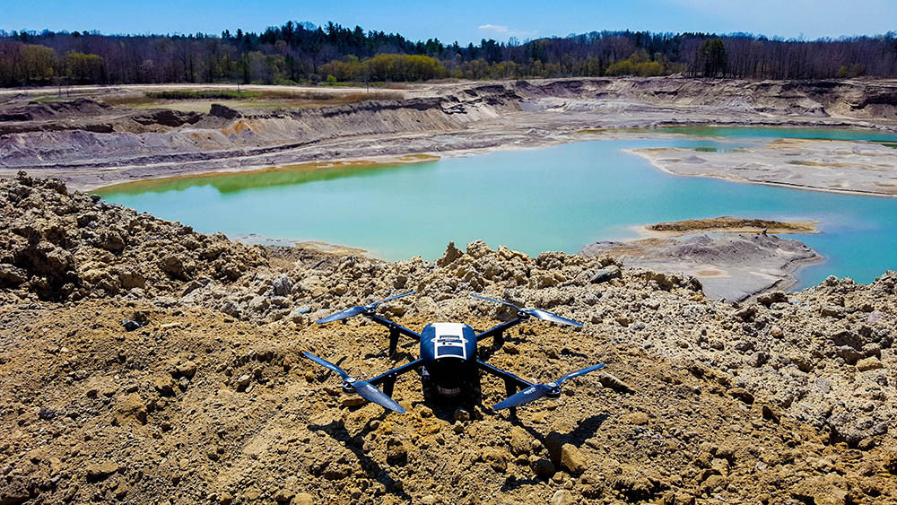 Drones for Mining and Aggregates