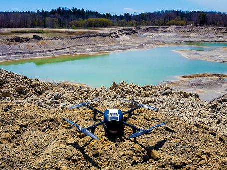 CASE STUDY: Volumetric Measurement of Stockpiles with Drones