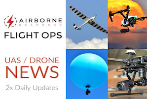 Drone and Unmanned Aircraft Systems (UAS) industry news and information from Airborne Response
