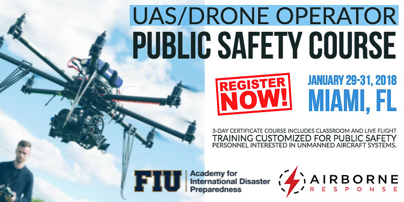 UAS Drone Public Safety Operator Course