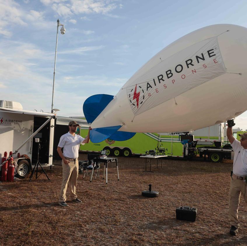 Airborne Response Tethered Aerostat Syst