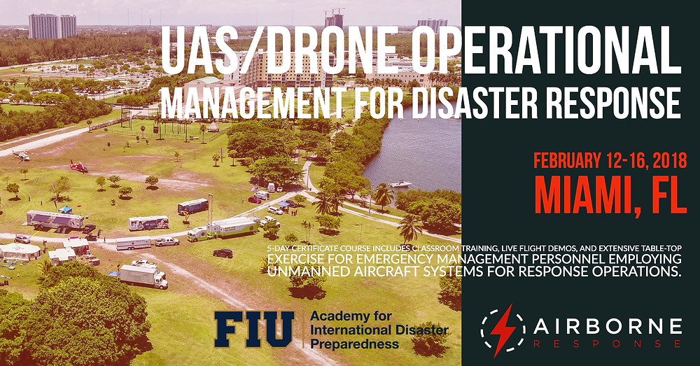 UAS/Drone Operational Management Course for Disaster Response