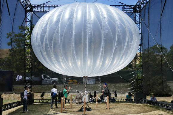 Google is embracing balloons in the UAS space
