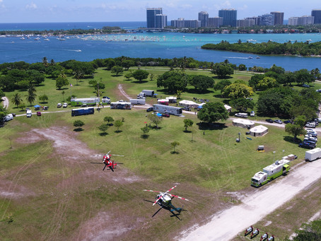 PHOTO: Florida International University Disaster Response Exercise