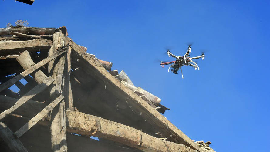 Drones are helping firefighters save lives