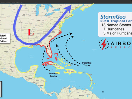Airborne Response Bolsters Operations with Early Start to the Atlantic Hurricane Season