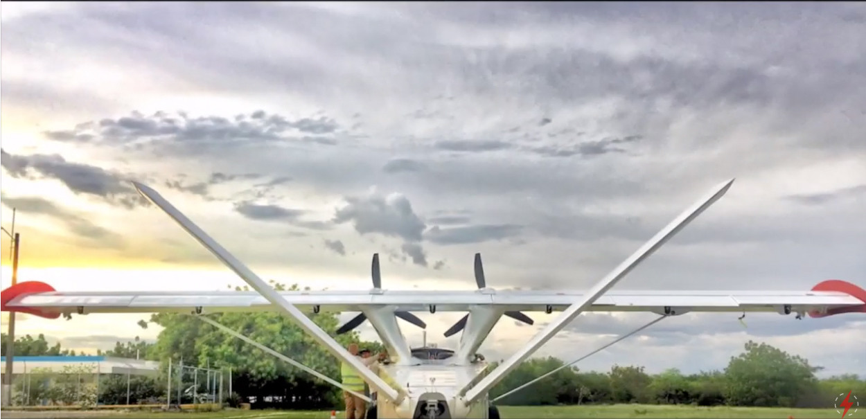Airborne Beyond Visual Line of Sight BVL