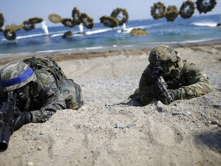 Marine Corps Eyes Drone Swarms as Crucial for Future Amphibious Landings
