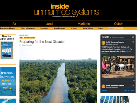 MEDIA CLIP: Preparing for the Next Disaster via Inside Unmanned Systems