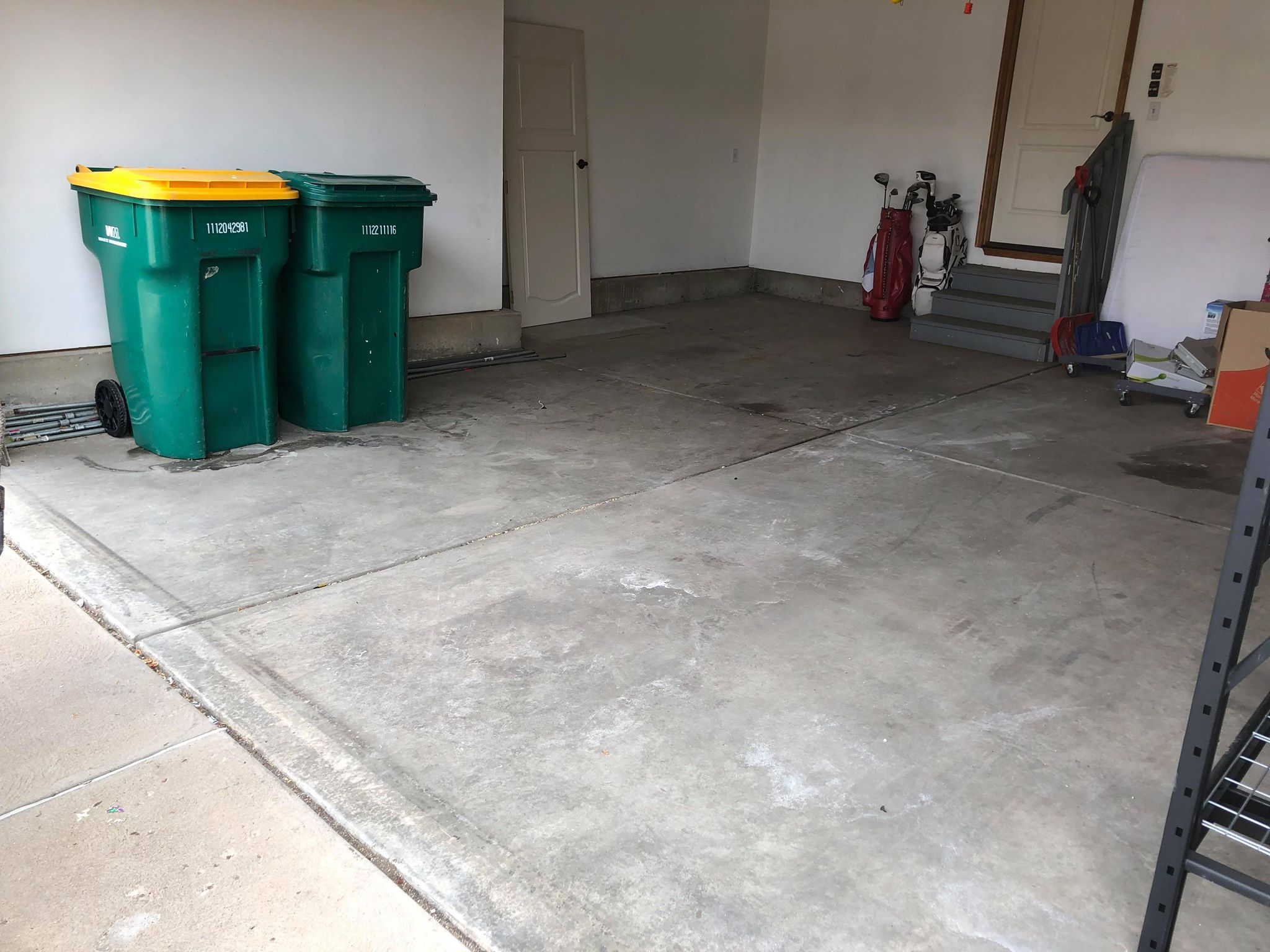 garage cleanout by pikes peak junk removal