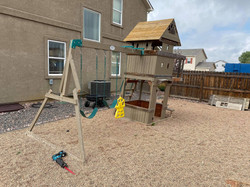 swing set removal by pikes peak junk rem