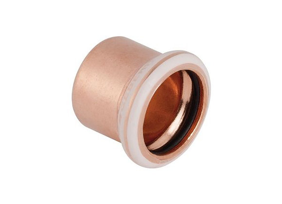 Geberit Mapress  stop end 15mm Copper   Product Code - 60232