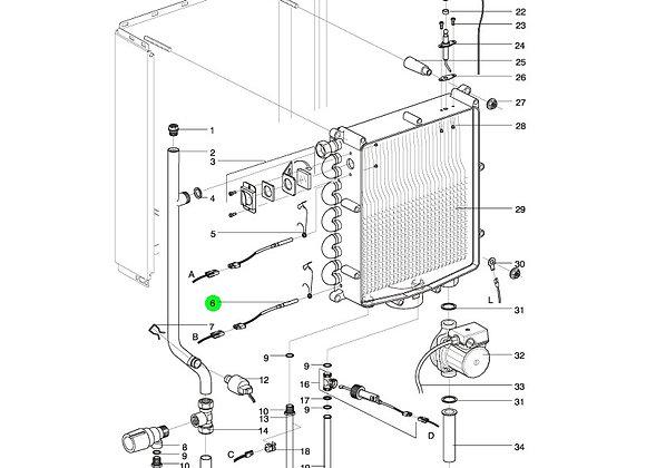 Intergas Heat Exchanger NTC Sensor S1 or S2  PRODUCT NO - 200117