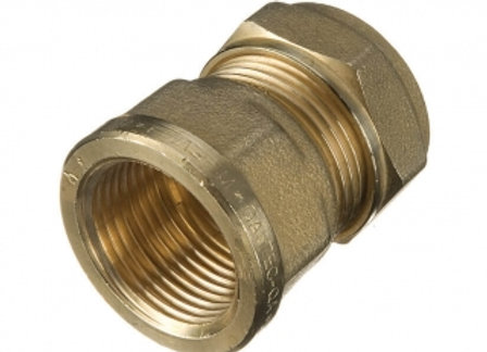 "Compressinon Copper Adaptor 15mm x 1/2"" Female Iron Coupling PROD CODE 24602152"