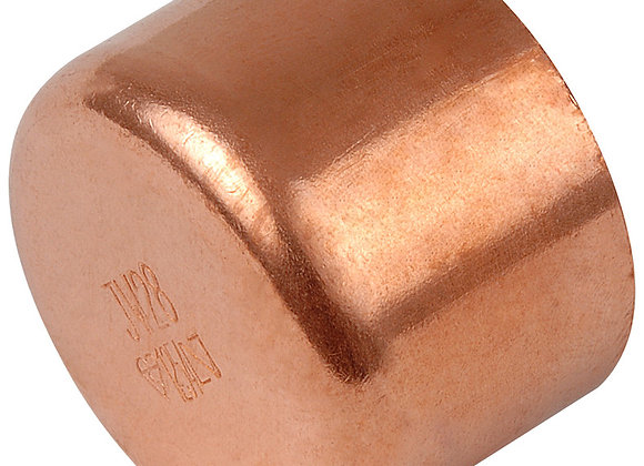 End Feed Stop End 15mm -  Copper  PRODUCT CODE - 30463211