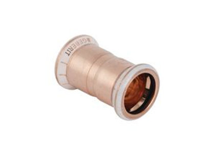 Geberit Mapress 62002 straight coupling 15mm Copper