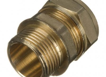 """Compression Copper Adapor 15mm x 1/2"""" Male Iron - 24603152"""