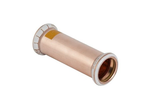 Geberit Mapress  straight gas coupling 15mm Copper  Product Code - 34601
