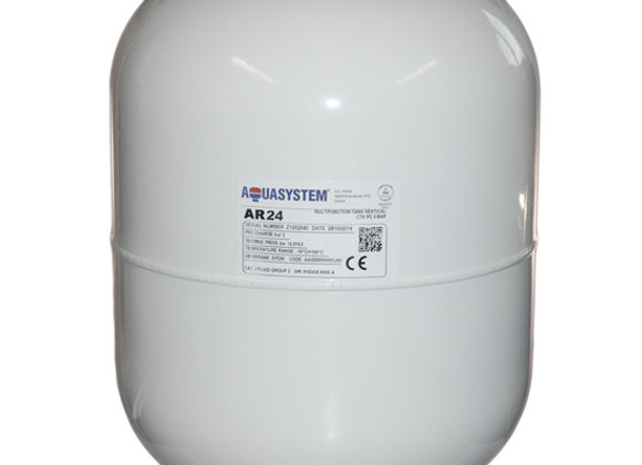 "Aquasystem 24 ltr Pottable Vessel 3/4""c/w bracket Product Code -xves050065"