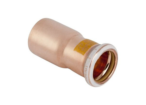Geberit Mapress  gas reducer 22 x 15mm Copper  Product Code - 34616
