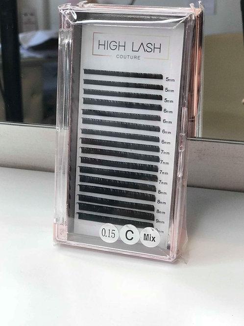 Shortest Length/Bottom Classic 0.15 Lashes