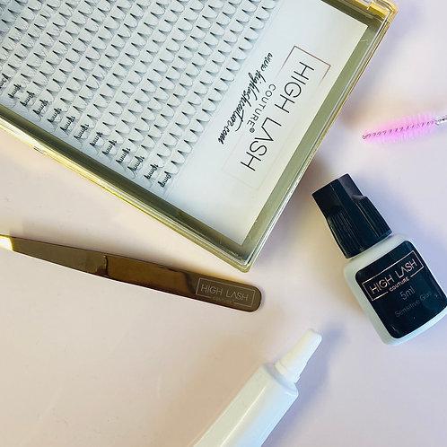 Russian Lash Home Kit - Senitive Pro Glue