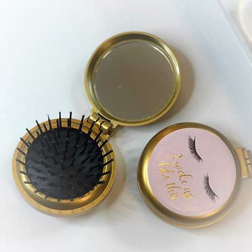 Lash Compact Hair Brush