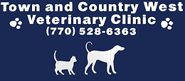 Town & Country West Veterinary Clinic Logo