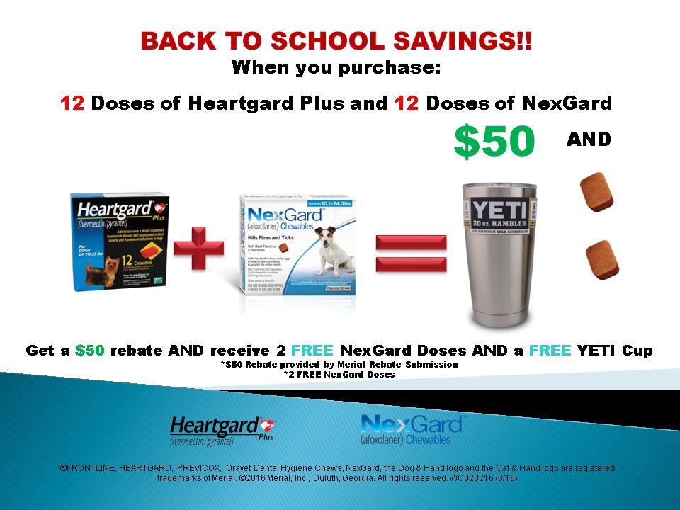 Heartgard-Nexgard Promotion