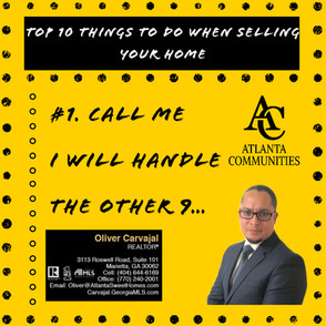 10 things to do when selling youir home