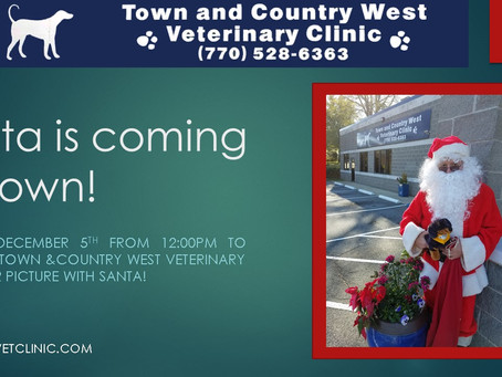 Santa is coming to Town & Country West!