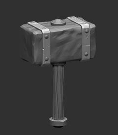 Hammer sculpt