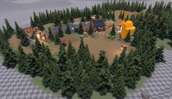 VegiKnight trees demo scene