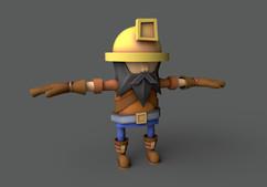 Miner NPC from Endless Miner