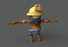 Miner NPC from Endless Miner