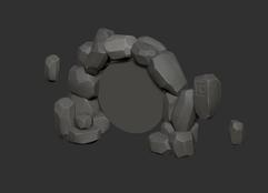 Portal sculpt