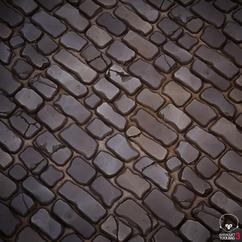 Stylized Bricks and Mortar