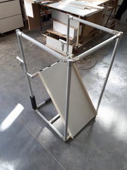 מתקן  איסוף מיציאת מכונת פלסטיקה