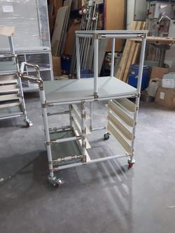 עגלה בתכנון מותאם לקוח
