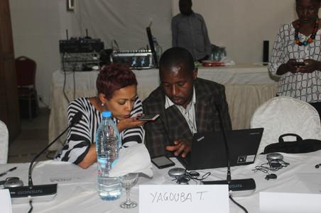 CONGO BRAZZAVILLE / AFRICAN UNION : PIDA JOURNALIST'S NETWORK WORKSHOP